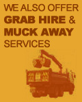 grab hire muck away